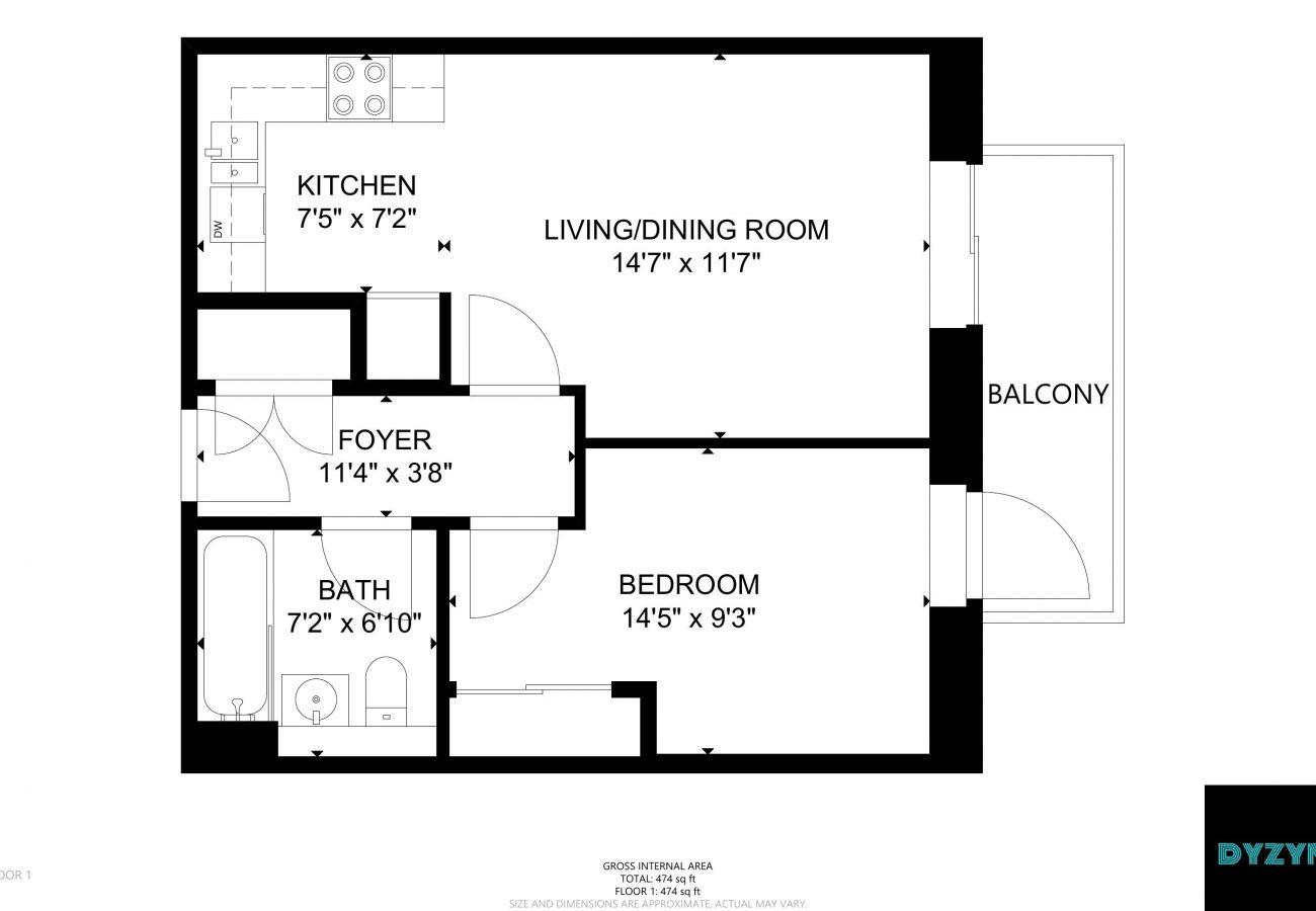 Apartment in Cardiff - 27 Caldey Island House - CF110JN - Prospect Pad